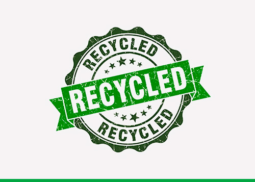 CERTIFIED RECYCLING<br>SERVICE